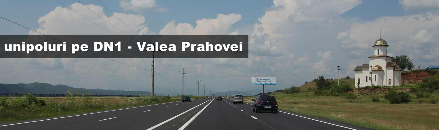 publicitate outdoor media pe DN1 Valea Prahovei